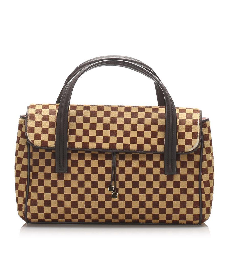 Image for Vintage Louis Vuitton Damier Sauvage Lionne Brown