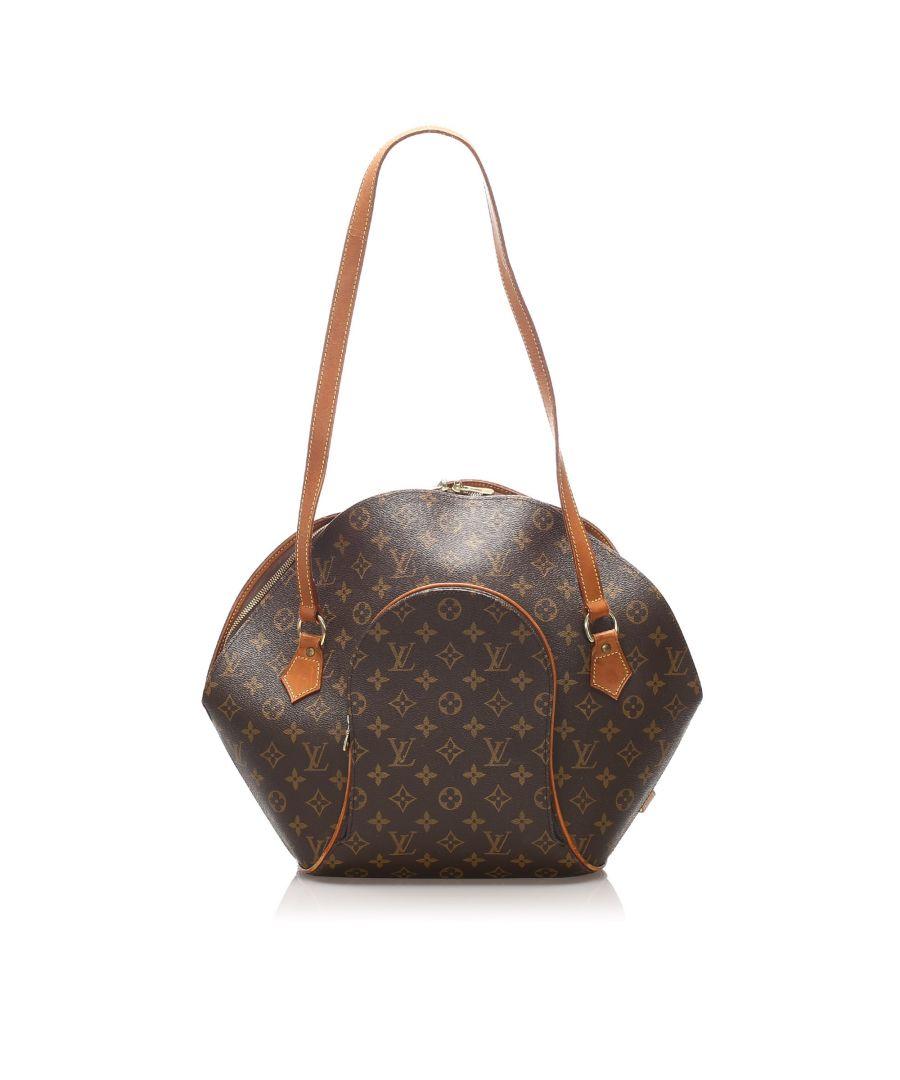 Image for Vintage Louis Vuitton Monogram Ellipse Shopper Brown
