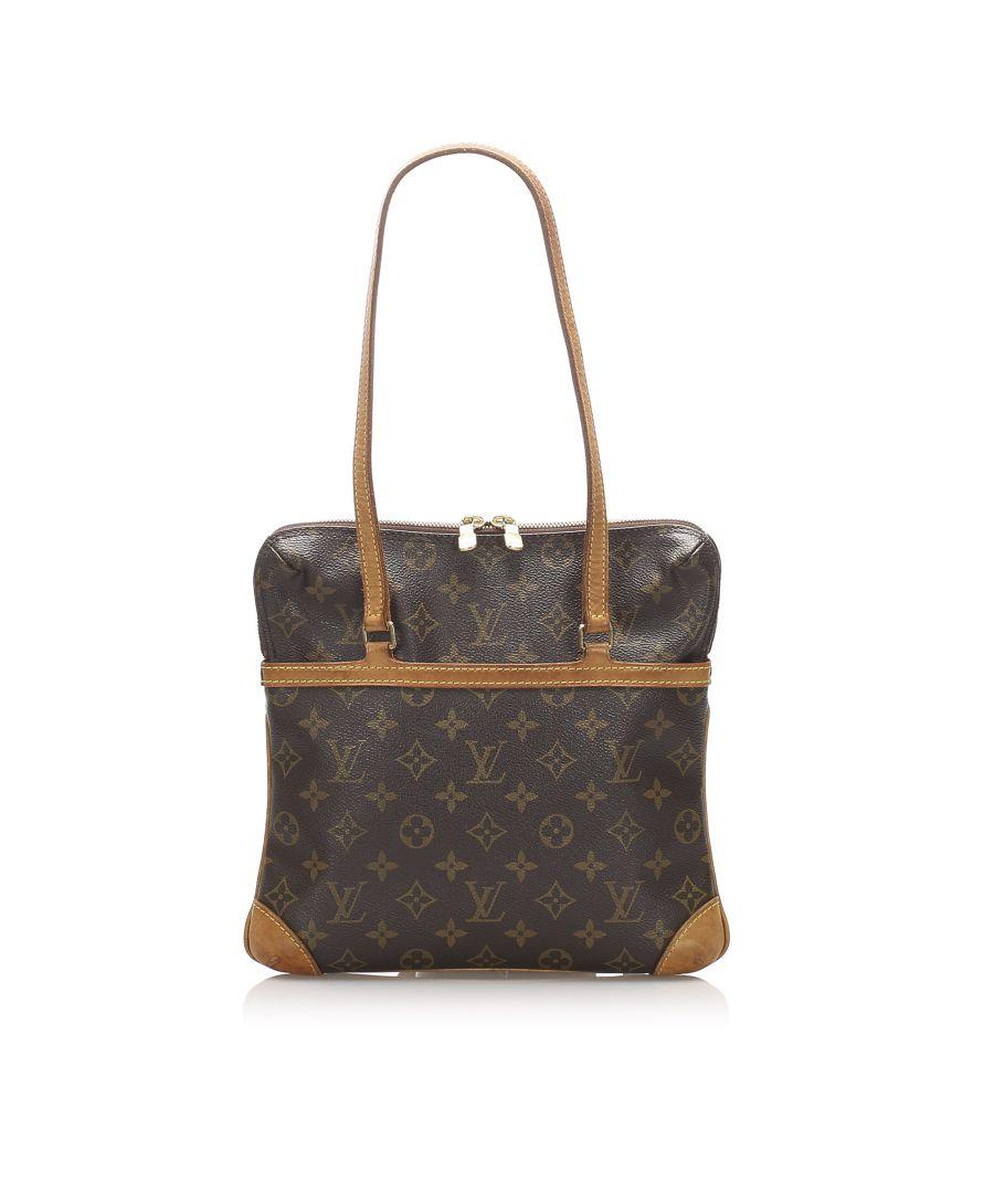 Image for Vintage Louis Vuitton Monogram Coussin GM Brown