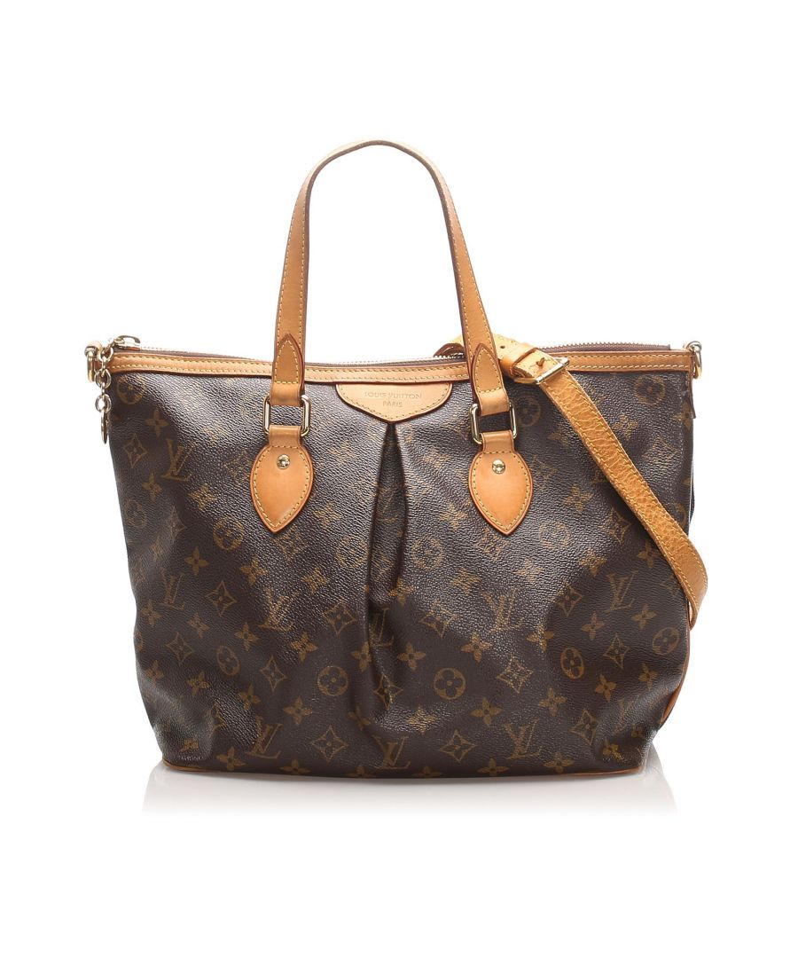 Image for Vintage Louis Vuitton Monogram Palermo PM Brown