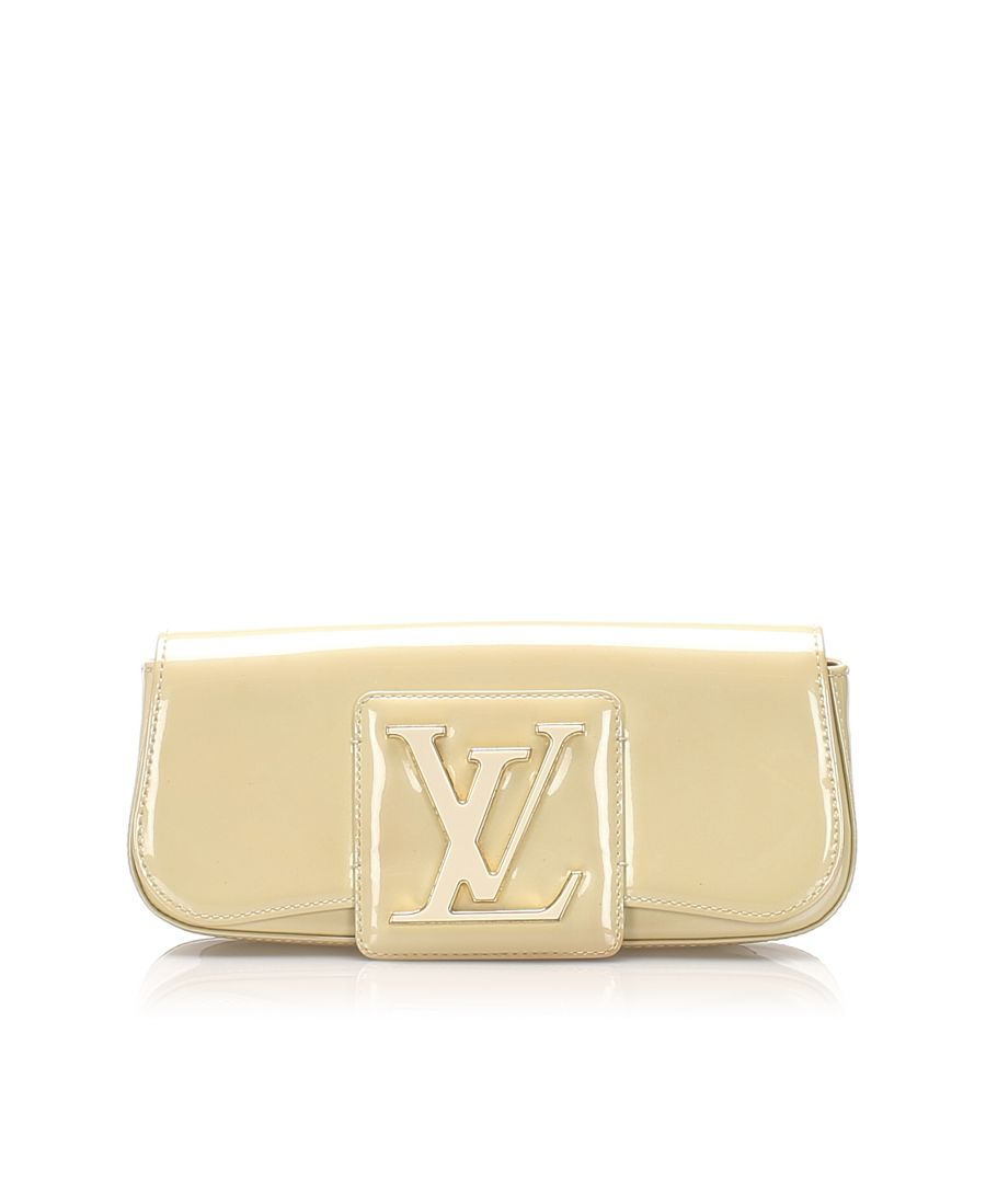 Image for Vintage Louis Vuitton Sobe Clutch Bag Brown