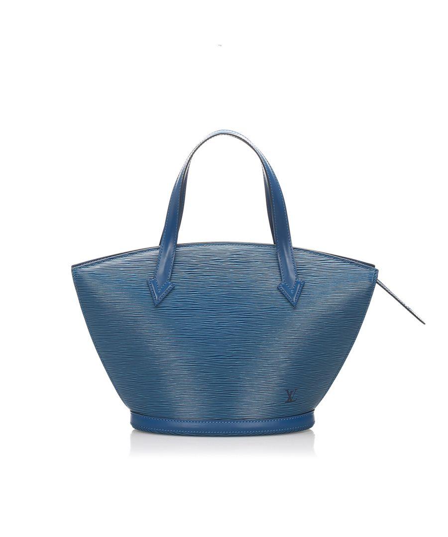 Image for Vintage Louis Vuitton Epi Saint Jacques PM Short Strap Blue