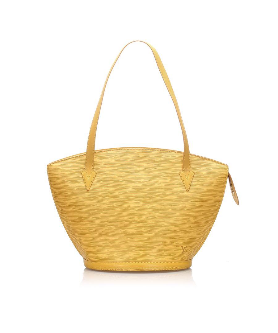 Image for Vintage Louis Vuitton Epi Saint Jacques PM Long Strap Yellow