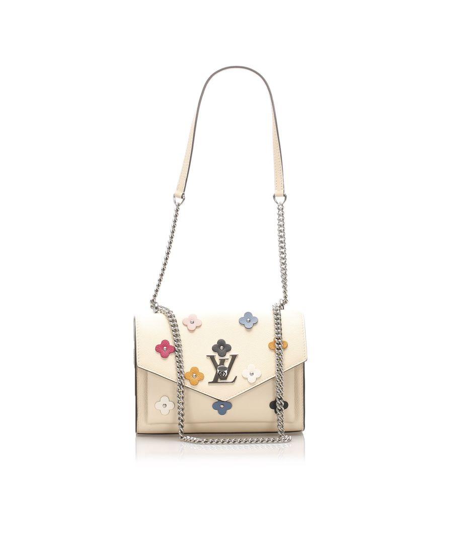 Image for Vintage Louis Vuitton MyLockMe Fleurs BB Brown