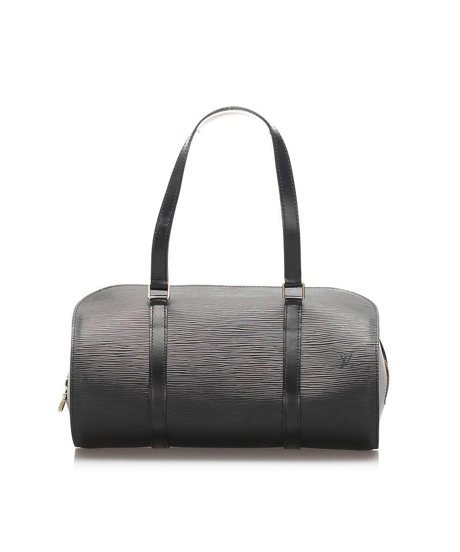 Image for Vintage Louis Vuitton Epi Soufflot Black