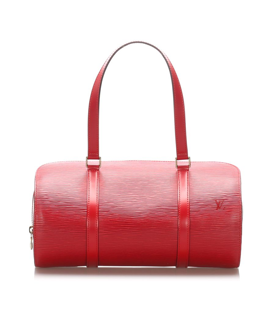 Image for Vintage Louis Vuitton Epi Soufflot Red