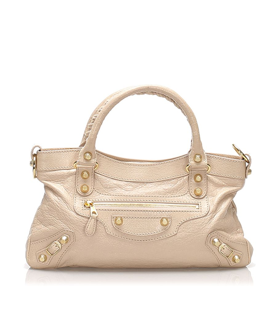 Image for Balenciaga Motocross Giant First Leather Satchel