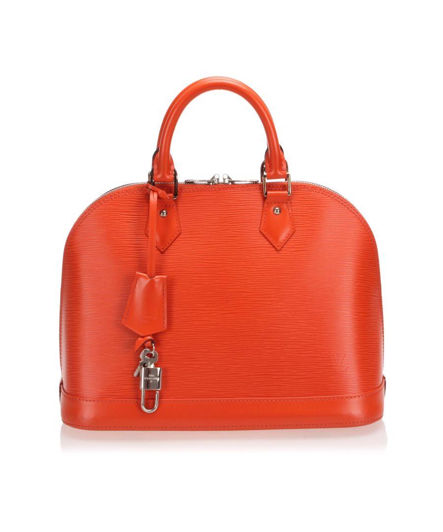 Image for Vintage Louis Vuitton Epi Alma PM Orange