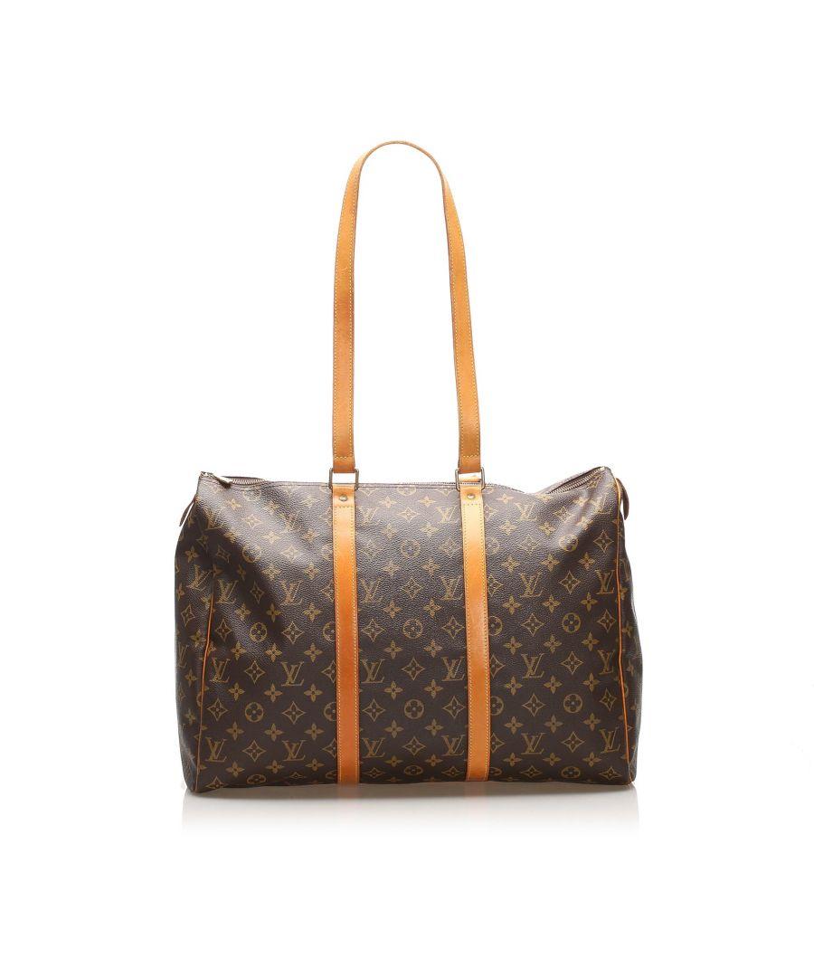 Image for Vintage Louis Vuitton Monogram Sac Flanerie 45 Brown