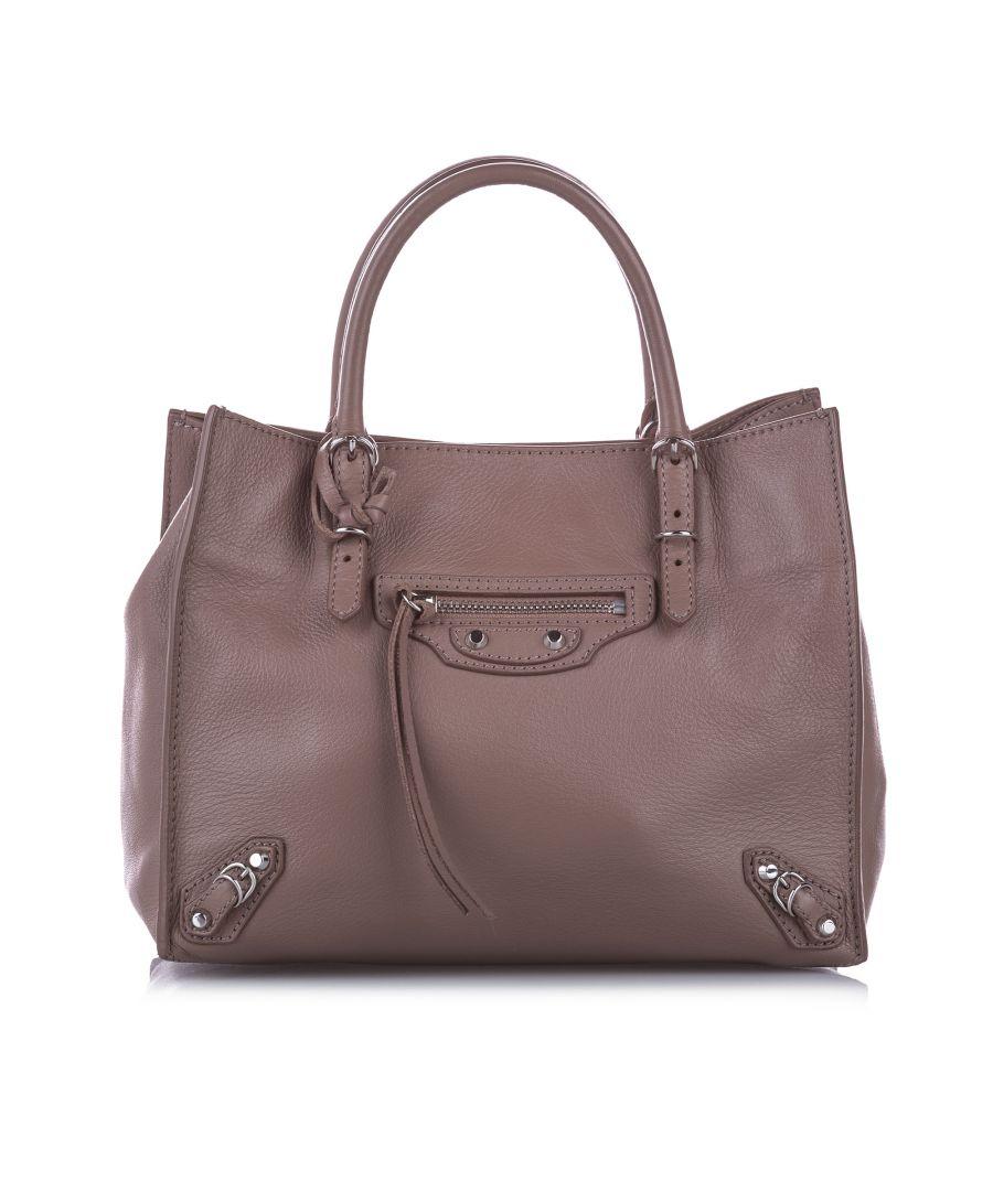 Image for Balenciaga Papier A4 Leather Satchel