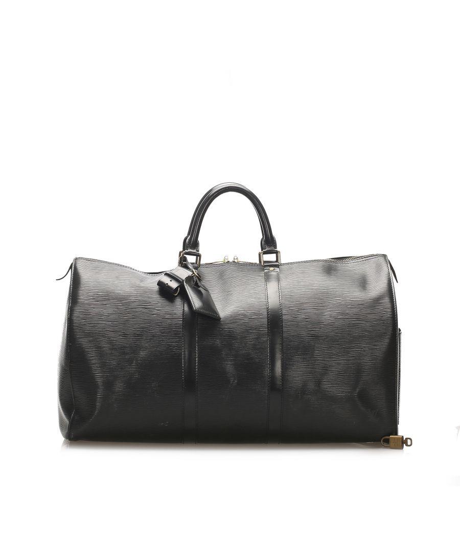 Image for Vintage Louis Vuitton Epi Keepall 50 Black