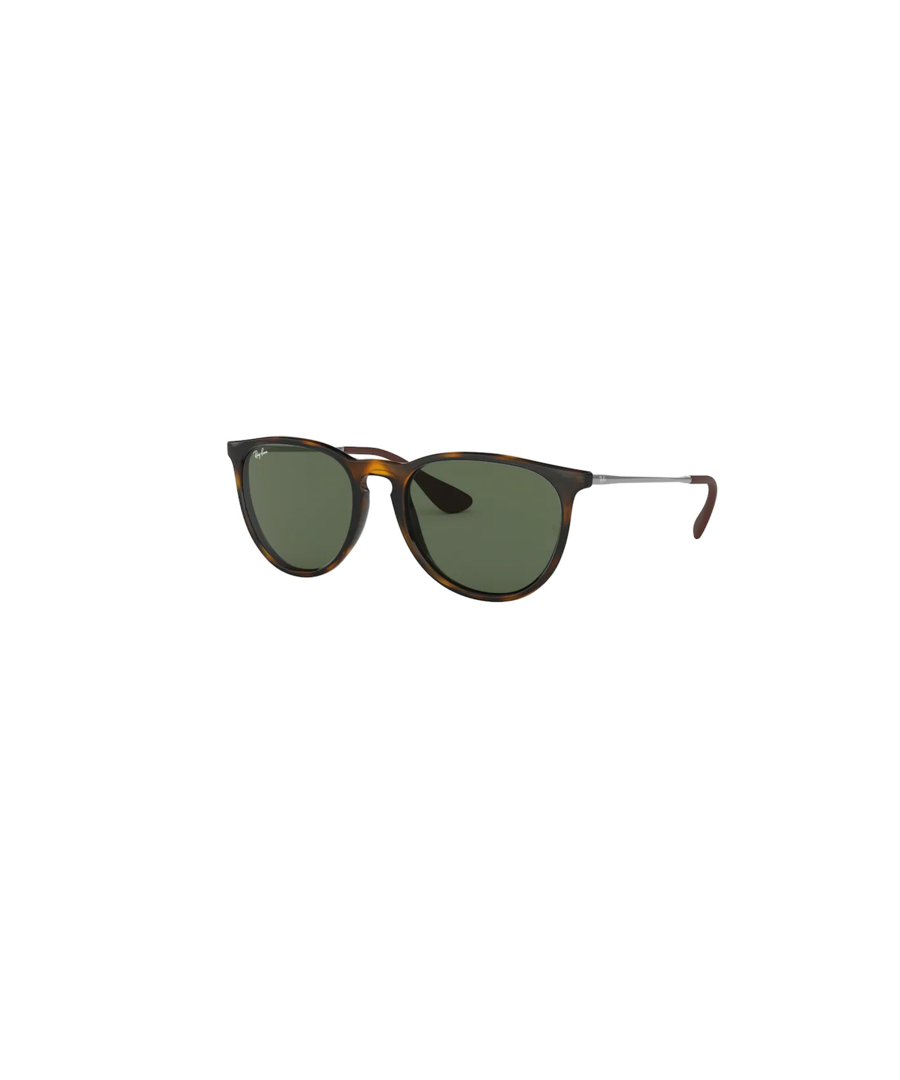 Image for Rayban Erika sunglasses in light havana black with green lens