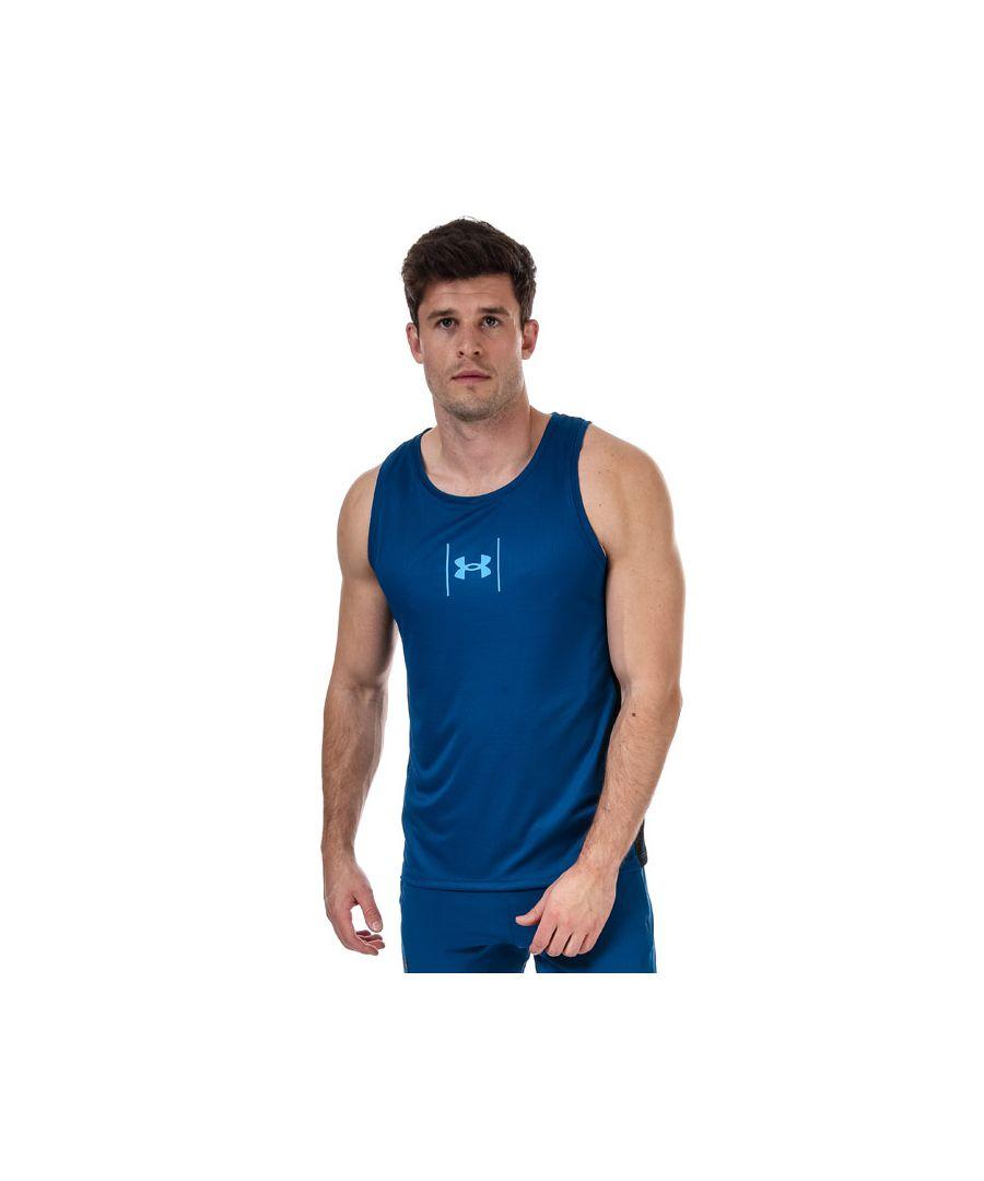 Image for Men's Under Armour Speed Stride Shock Vest in Blue