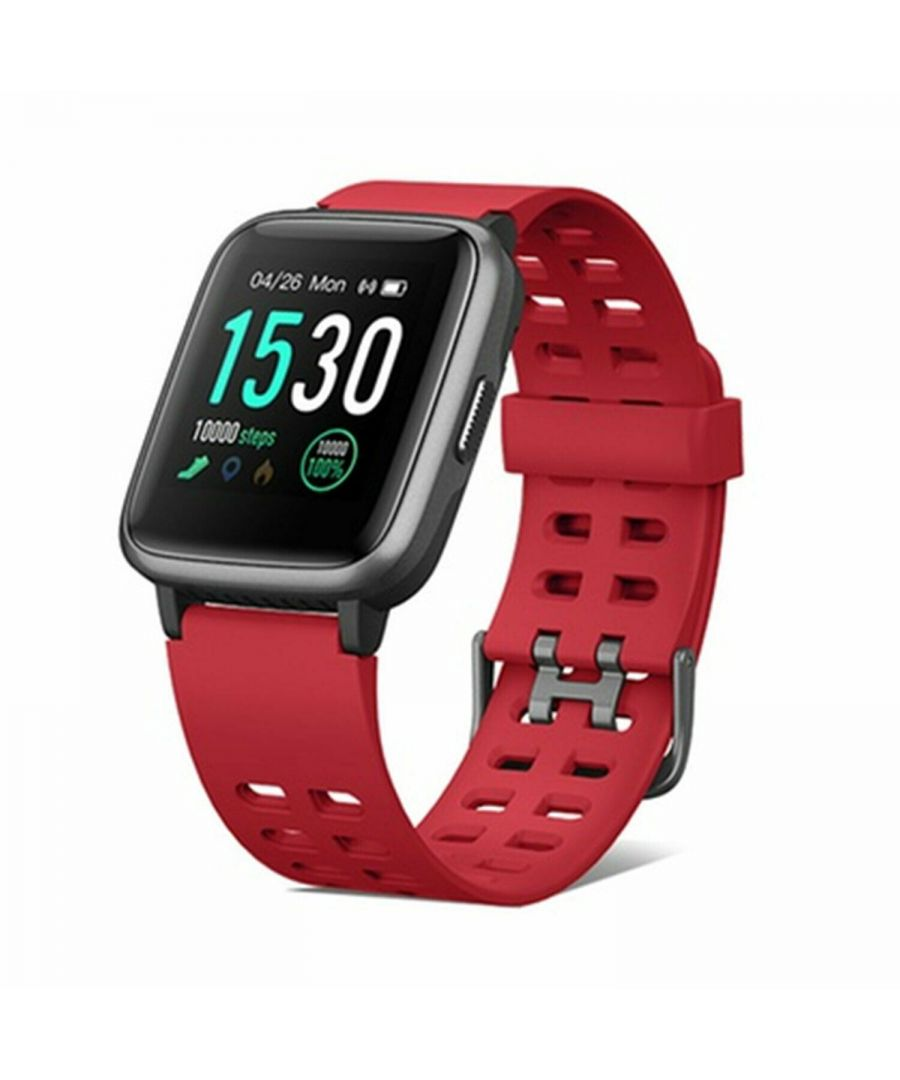 Image for Aquarius 149 Fitness Watch Heart Rate & 7 Sports tracking mode Red