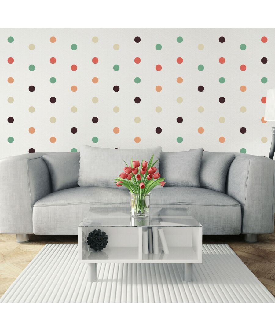 Image for Dots Self Adhesive DIY Wall Sticker Wall Stickers, Kitchen, Bathroom, Living room, Self-adhesive, Decal