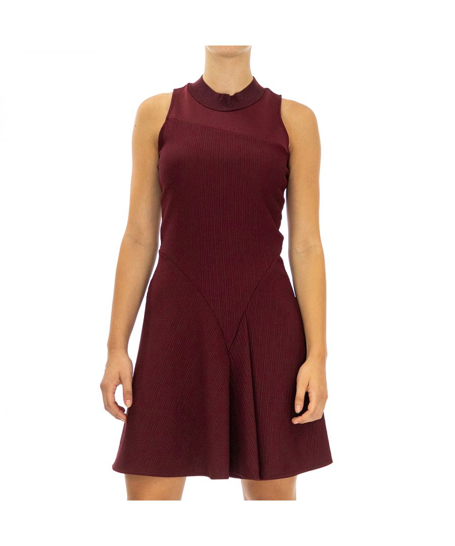 Image for Armani Exchange Women's Sleeveless Dress in Violet