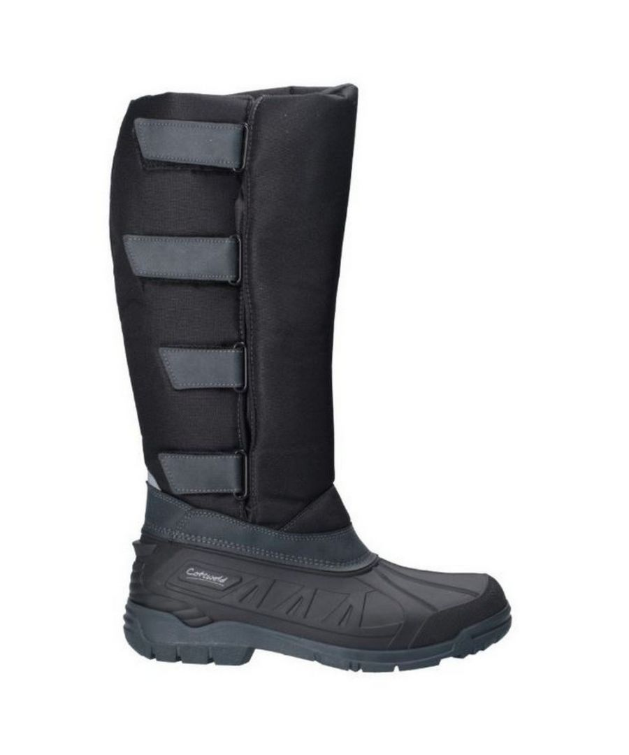 Image for Cotswold Womens/Ladies Kemble Knee High Wellington Boots (Black)