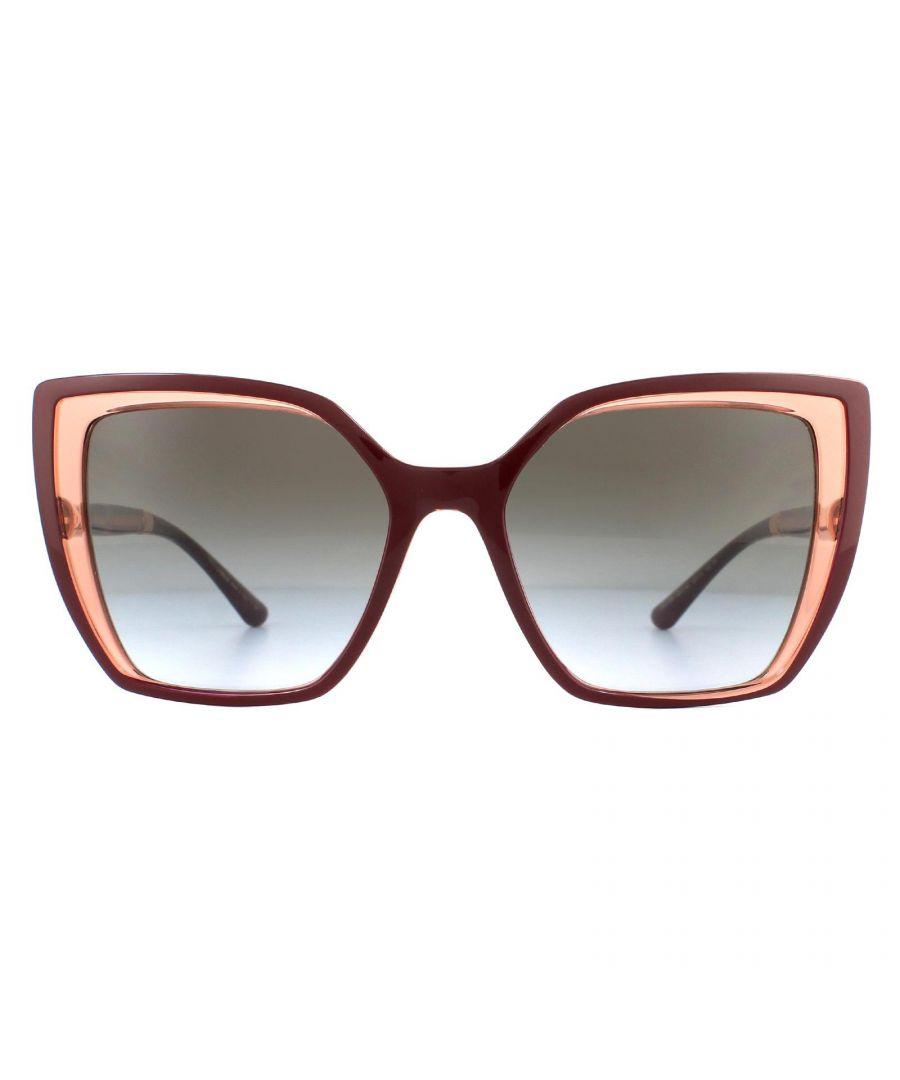 Image for Dolce & Gabbana Sunglasses DG6138 32468G Black On Transparent Grey Dark Grey Gradient