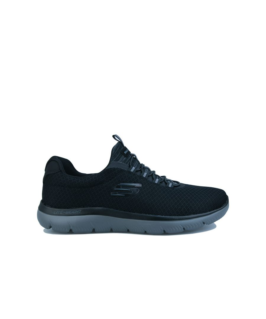 Image for Men's Skechers Summits Trainers in Black