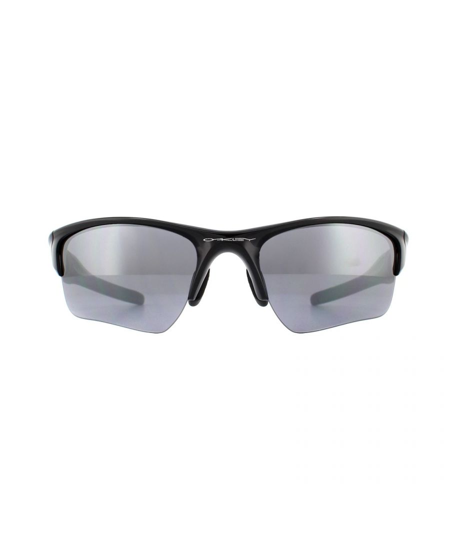 Image for Oakley Sunglasses Half Jacket 2.0 XL Polished Black Black Iridium OO9154-01