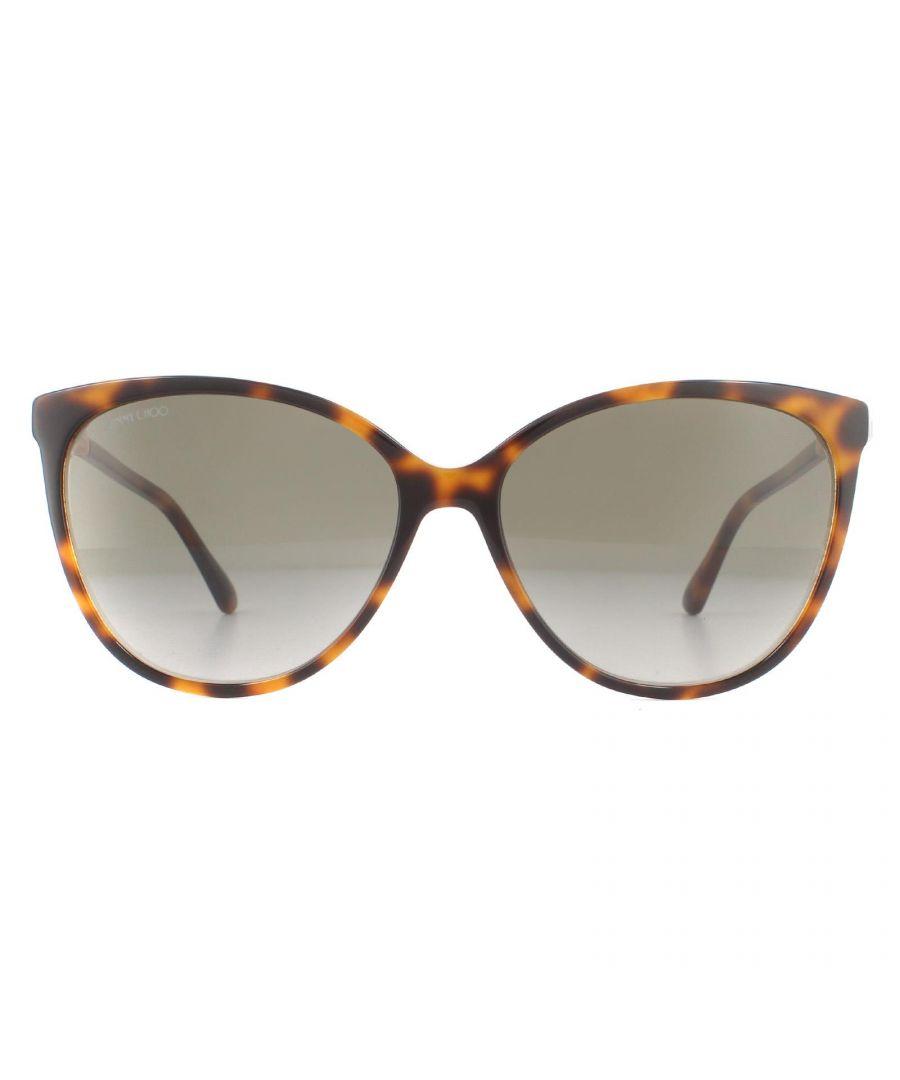 Image for Jimmy Choo Sunglasses Lissa/S 0T4 HA Havana Pink Brown Gradient