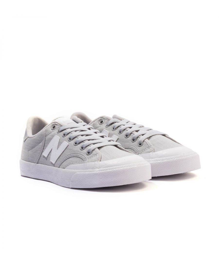Image for New Balance Pro Court Canvas Trainers - Grey