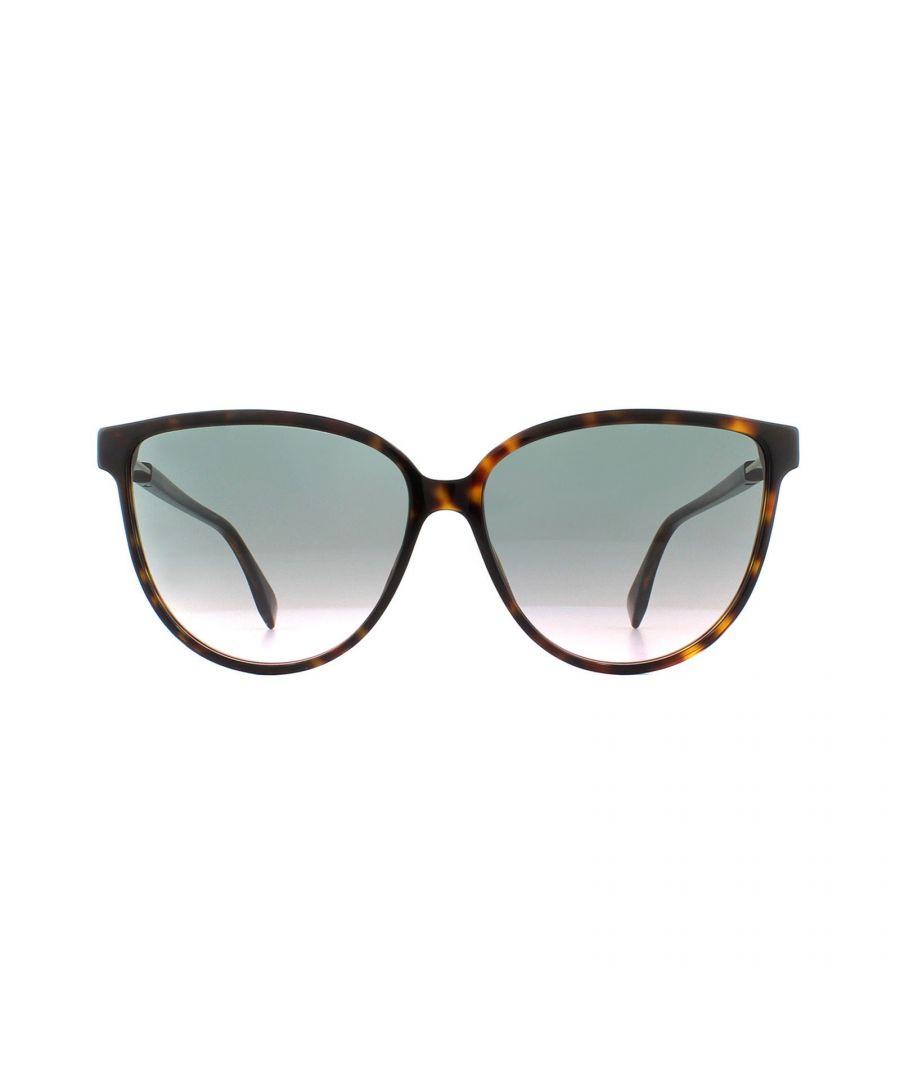 Image for Fendi Sunglasses FF 0345/S 086 JP Dark Havana Grey to Pink Gradient