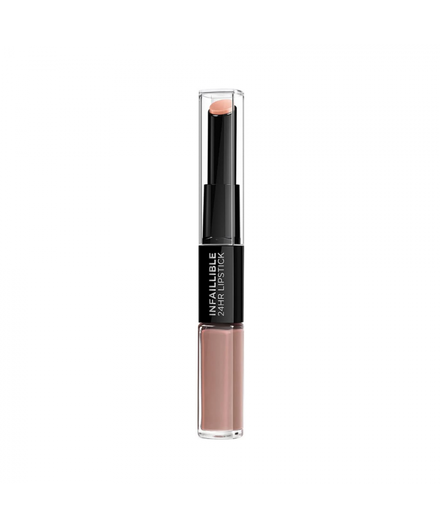Image for L'oreal infaillible 24hr 2 step lipstick - 116 beige to stay