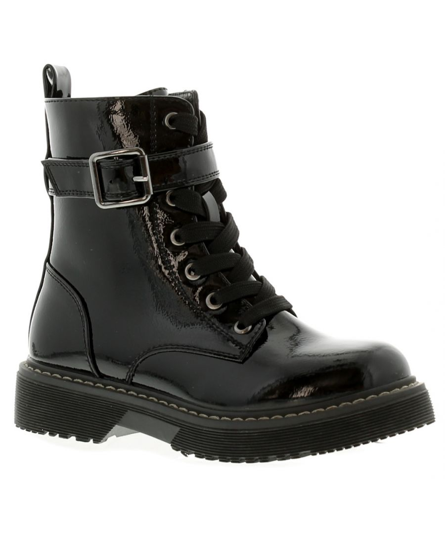 Image for Miss Riot Candy Older Girls Ankle Boots In Black