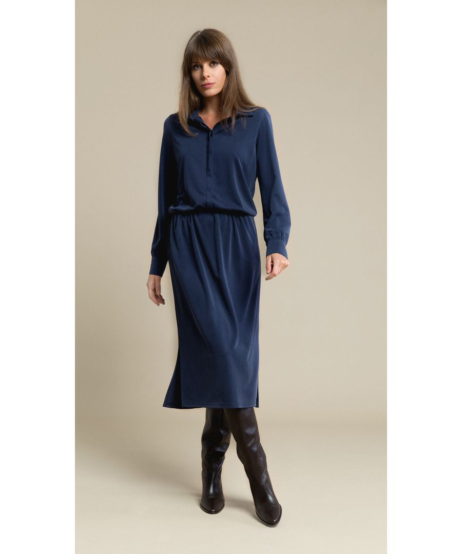 Image for Linda Navy Dress