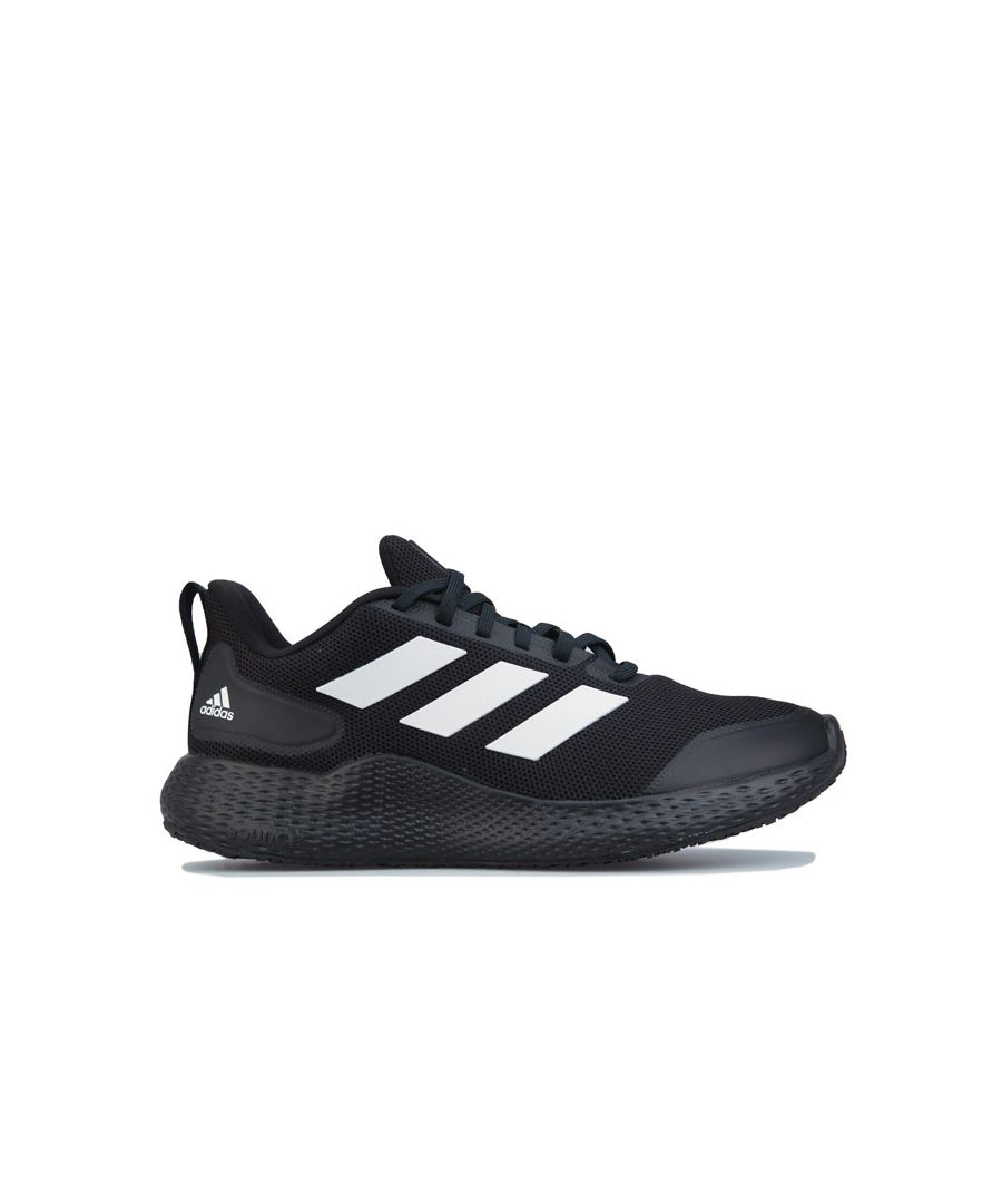 Image for Men's adidas Edge Gameday Running Shoes in Black-White