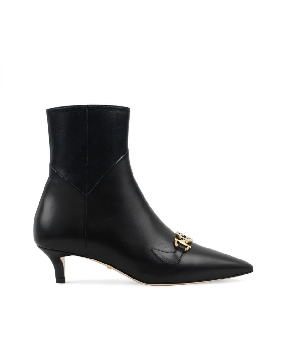 Image for Gucci Zumi Boots in Black Leather