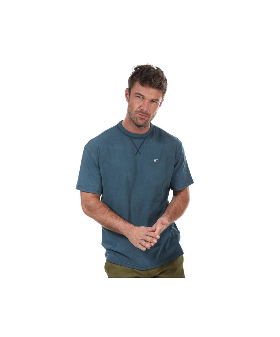 Image for Men's Tommy Hilfiger Classics Washed Relaxed T-Shirt in Navy