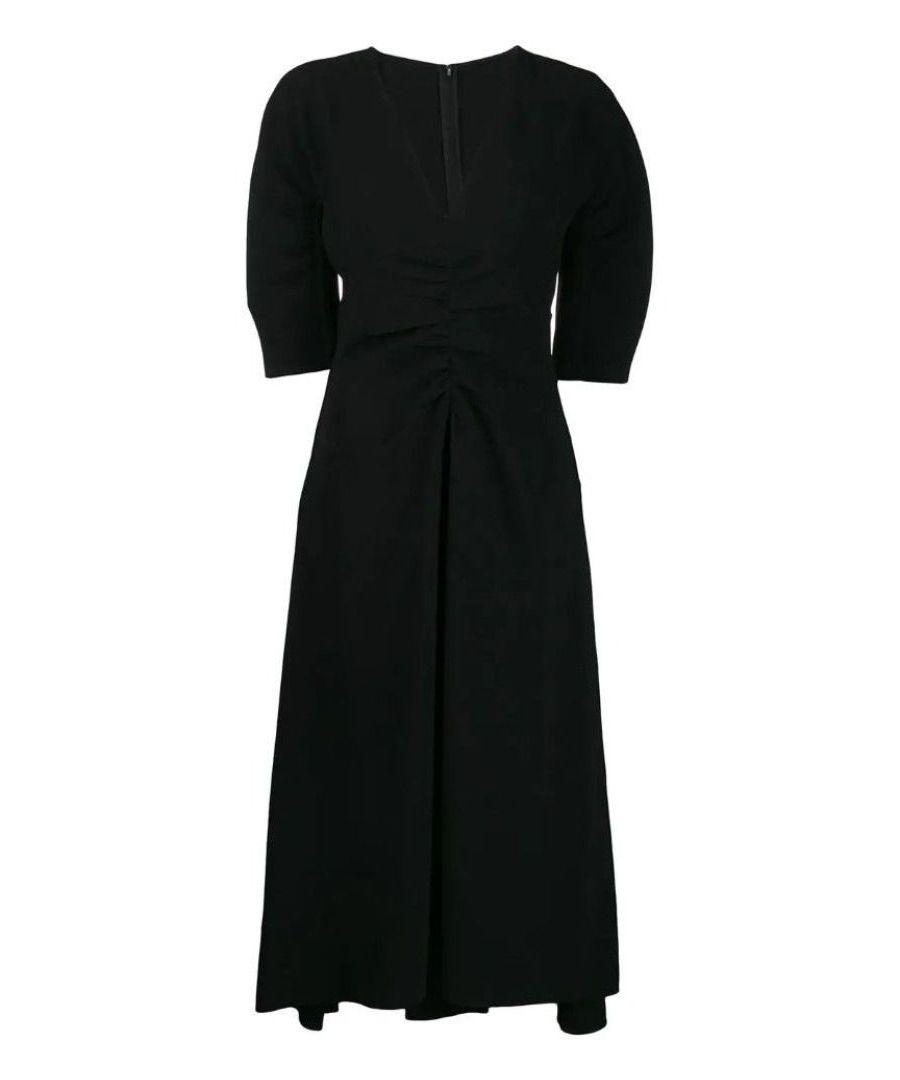 Image for N°21 WOMEN'S H20253959000 BLACK POLYESTER DRESS
