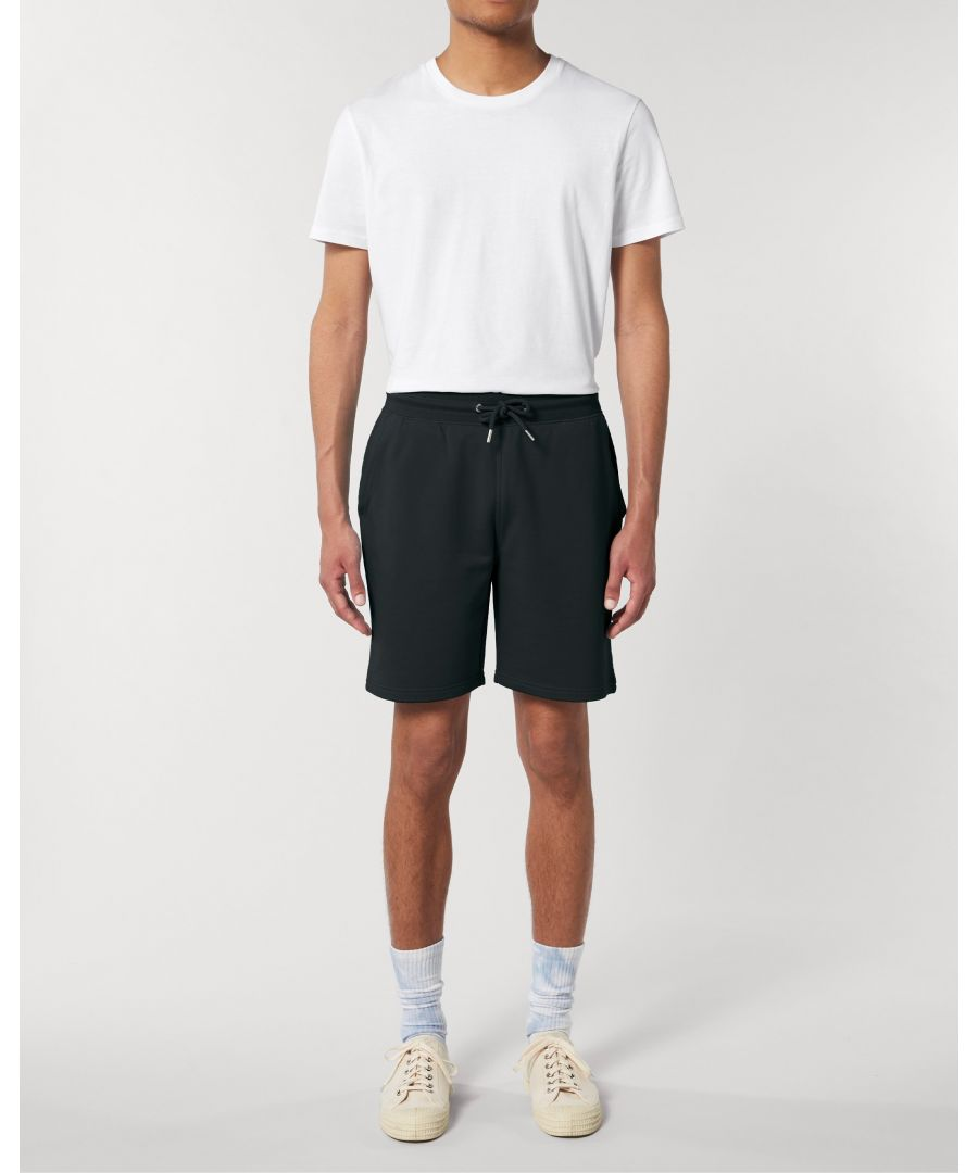 Image for Vayu Unisex Jogger Shorts in Black