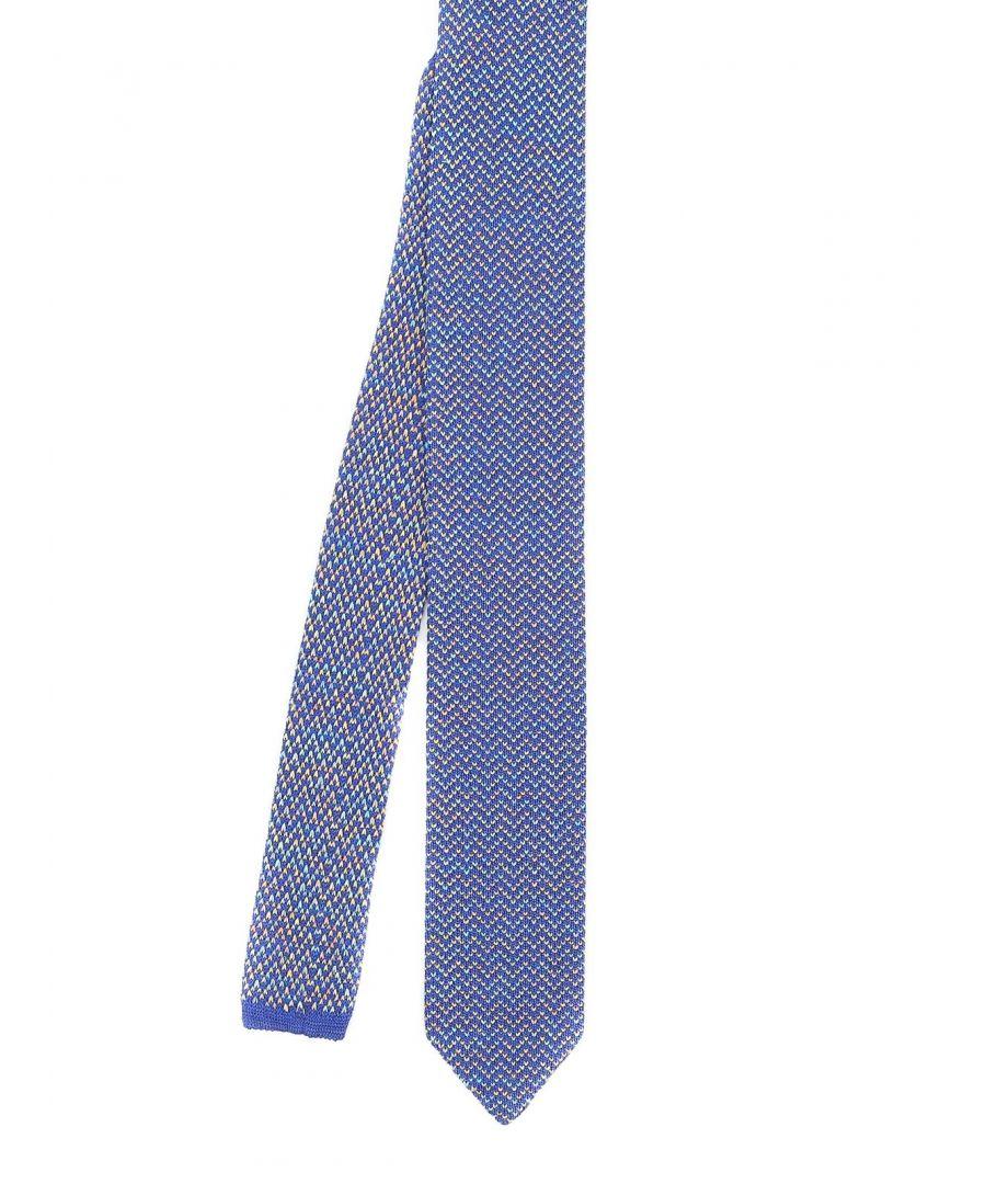 Image for MISSONI MEN'S CR62CMU72932 LIGHT BLUE COTTON TIE