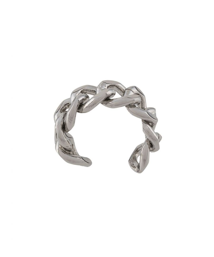 Image for FEDERICA TOSI WOMEN'S FT0110RINGCHAINSILVER SILVER METAL RING