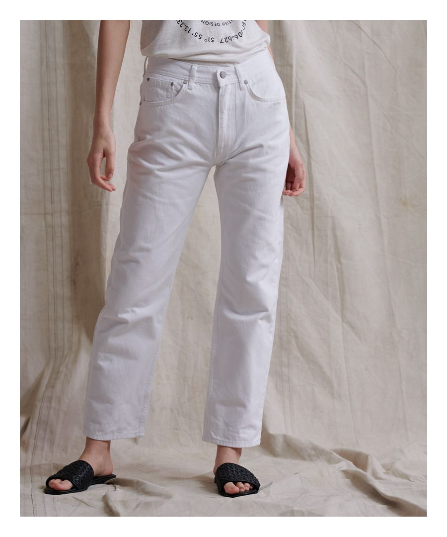 Image for Superdry High Rise Straight Jeans