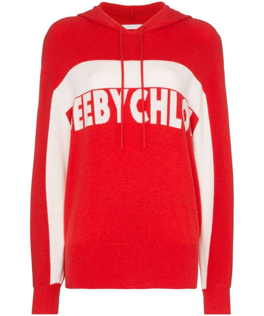 Image for SEE BY CHLOÉ WOMEN'S CHS20SMP0855091T RED VISCOSE SWEATSHIRT