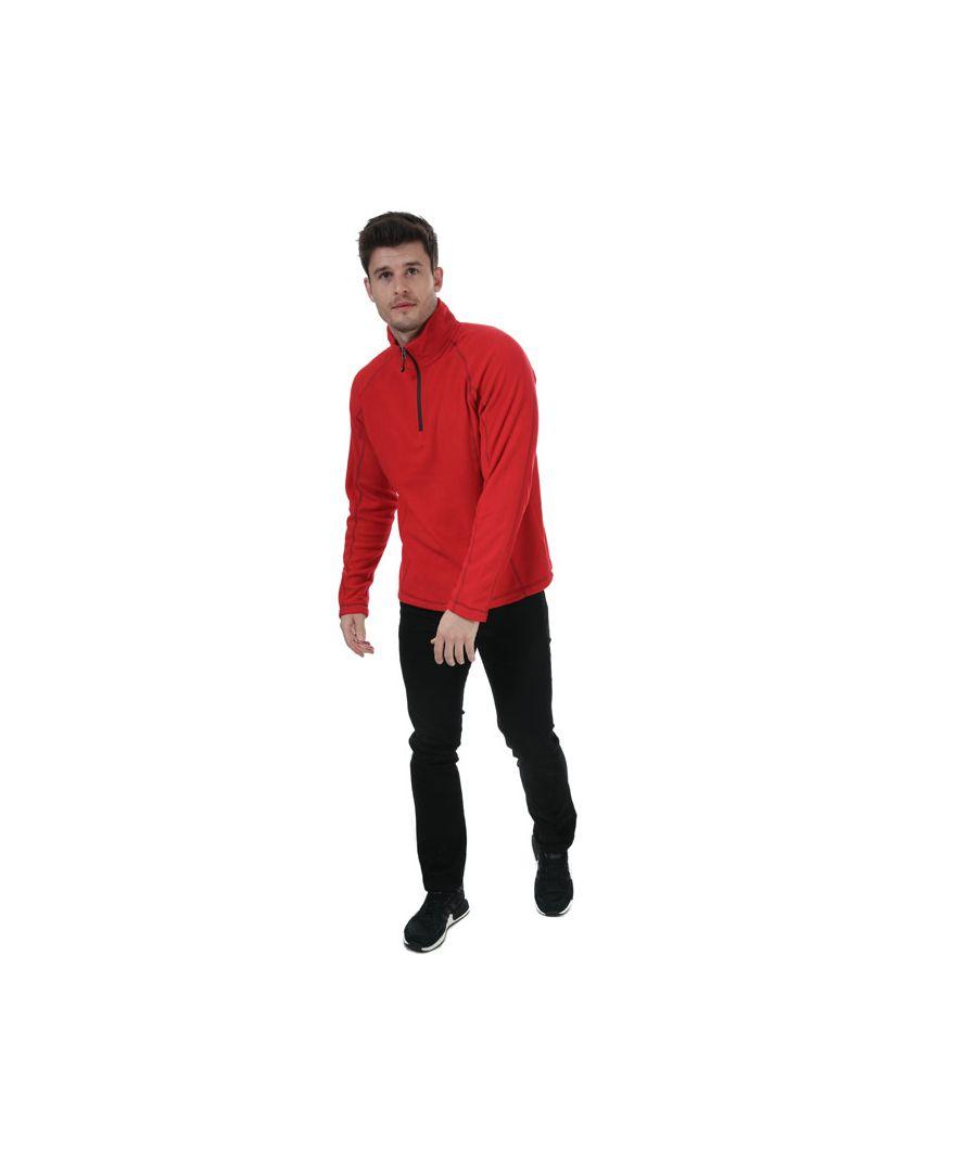 Image for Men's Elevate Bowlen 1/4 Zip Fleece In Red