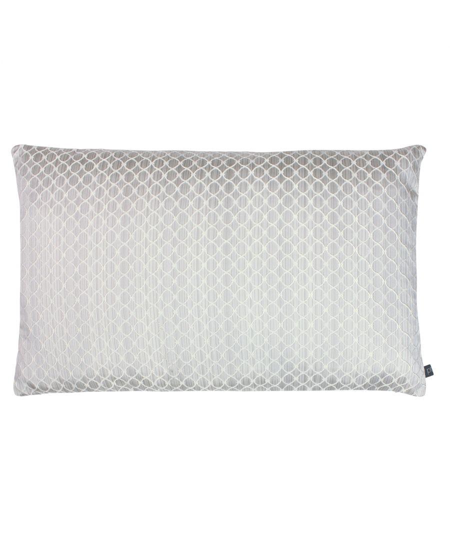 Image for Prestigious Textiles Gemstone Polyester Filled Cushion, Polyester, Chrome
