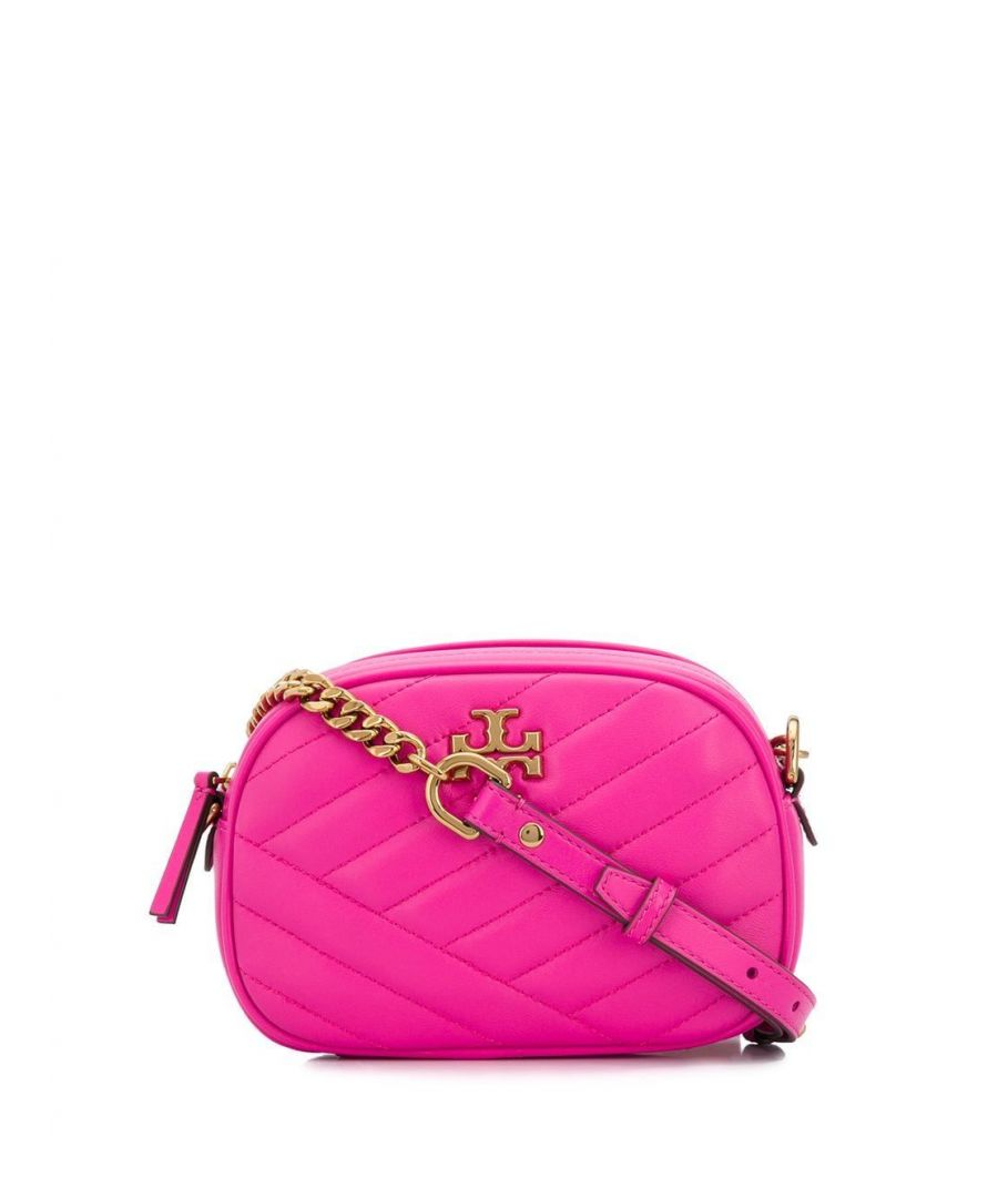 Image for TORY BURCH WOMEN'S 60227678 FUCHSIA LEATHER SHOULDER BAG
