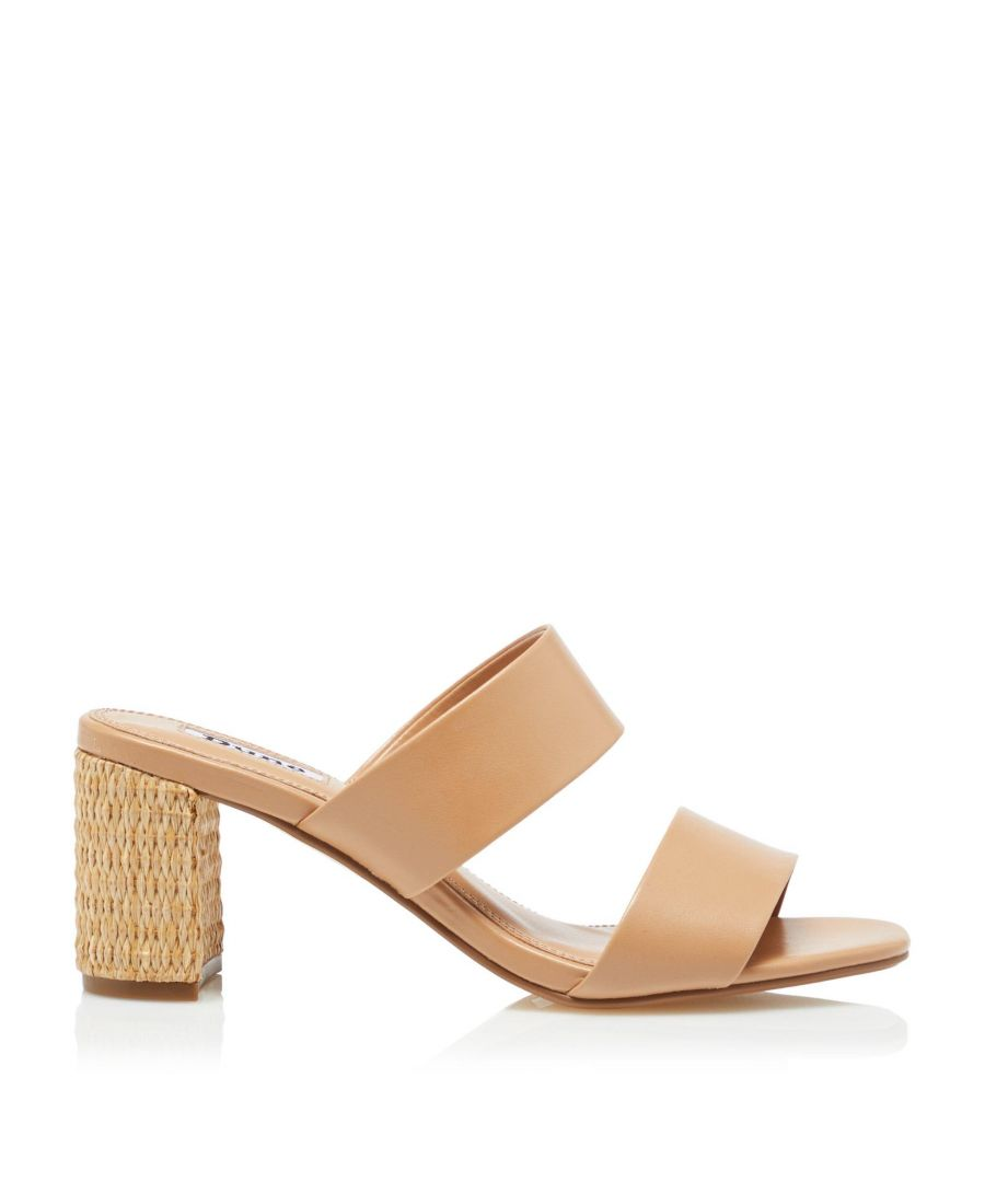 Image for Dune Ladies JESSIES Raffia Heel Sandals