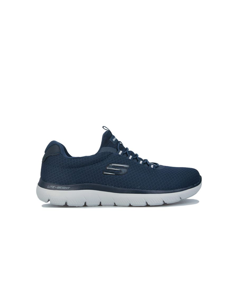 Image for Men's Skechers Summits Trainers in Navy