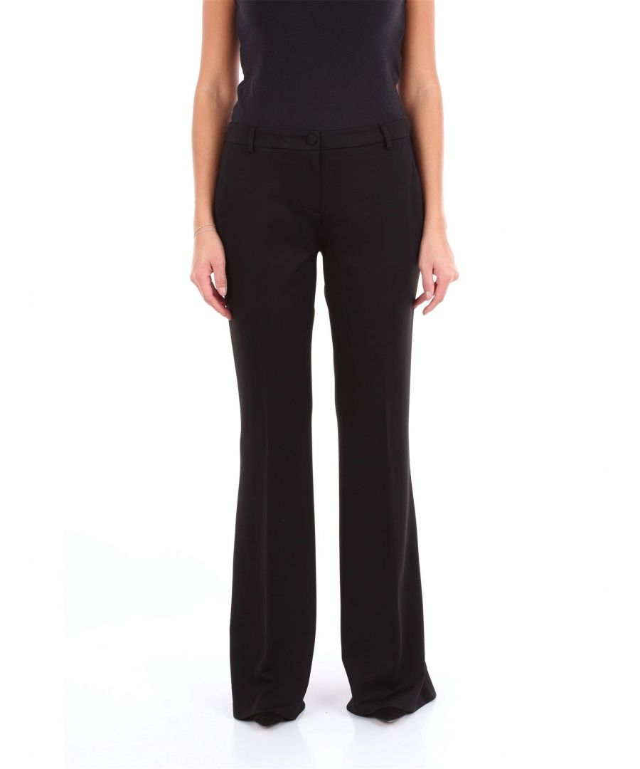 Image for BLUMARINE WOMEN'S 3661NERO BLACK OTHER MATERIALS PANTS