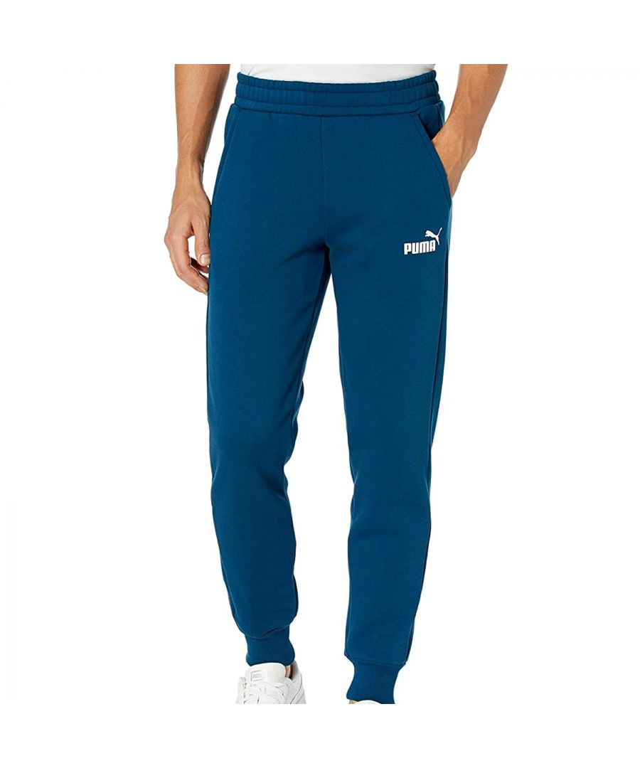 Image for Puma Essentials Small Logo Men's Track Pant in Blue