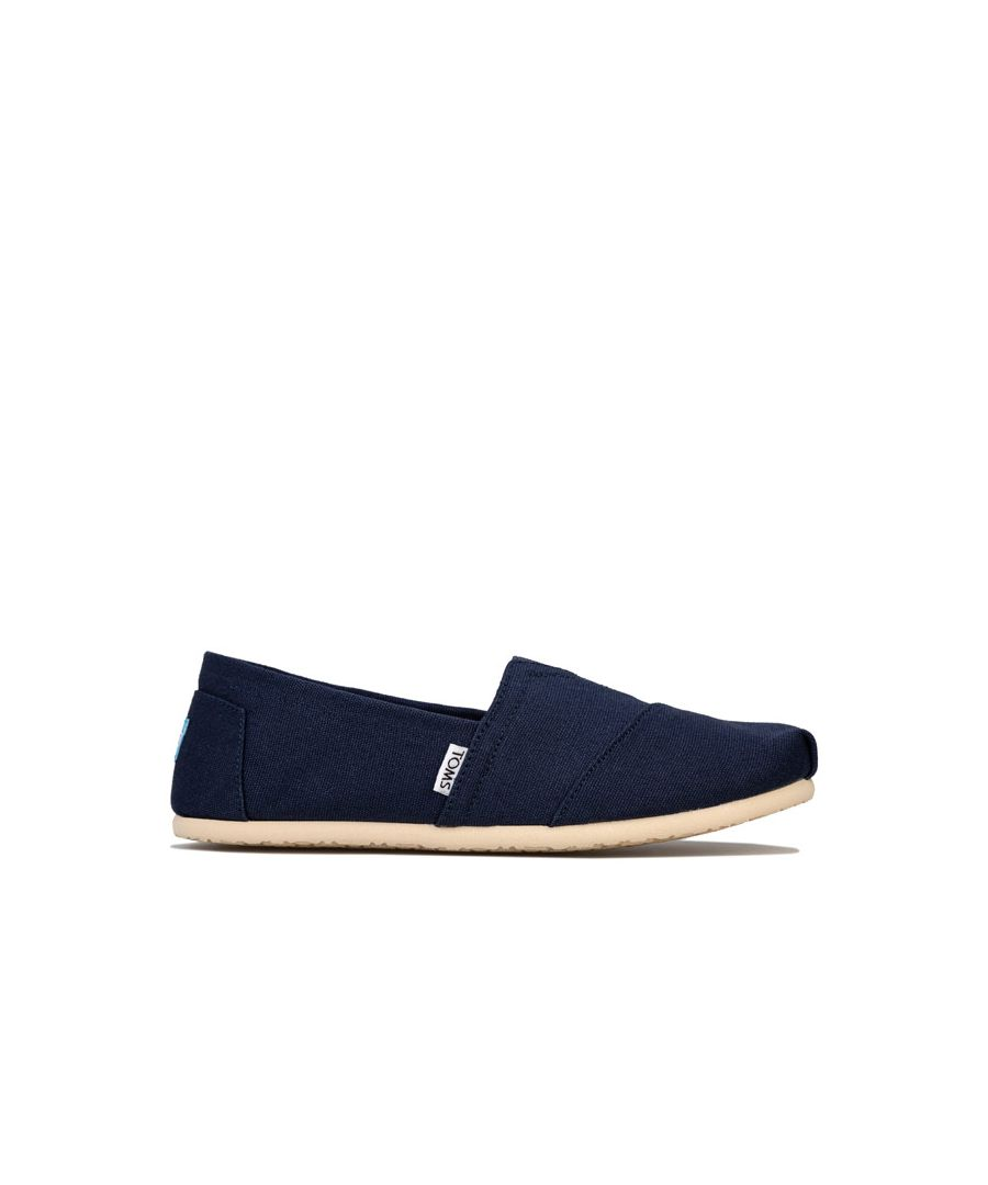 Image for Men's Toms Classics Canvas Pumps in Navy