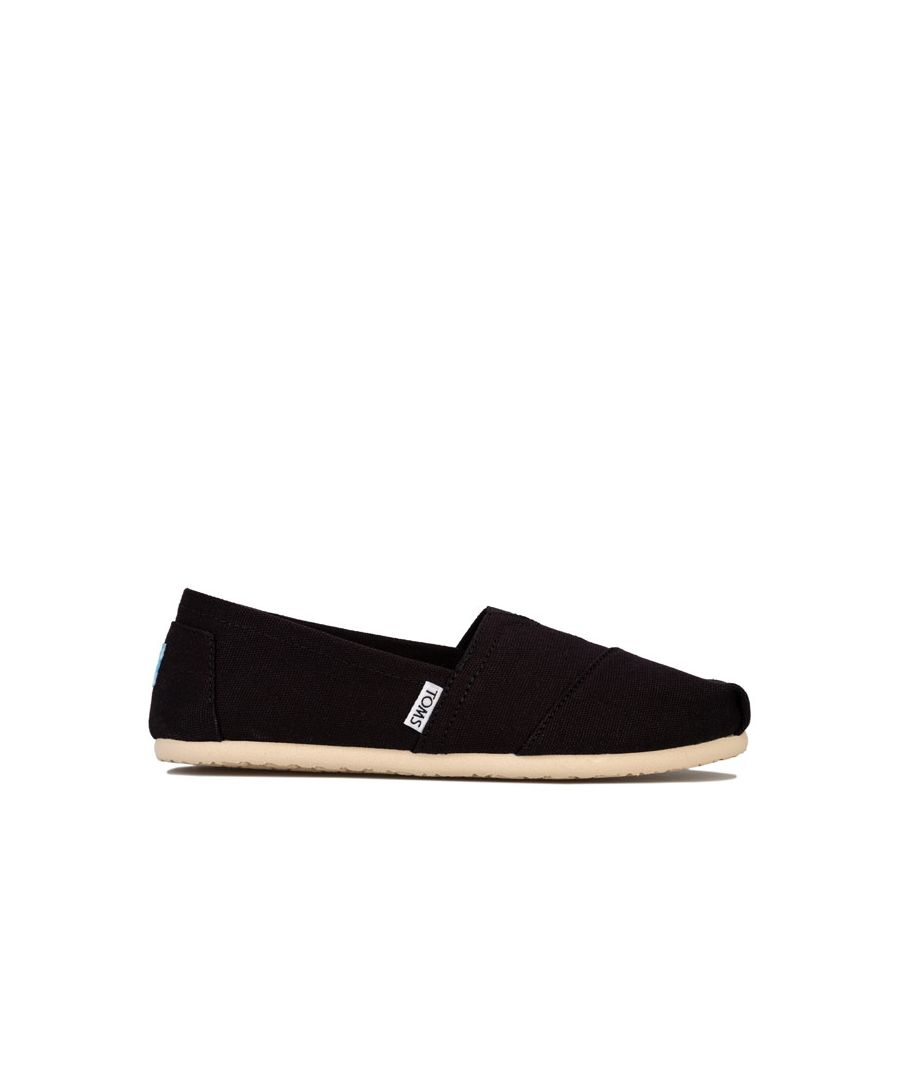 Image for Women's Toms Classics Canvas Pumps in Black