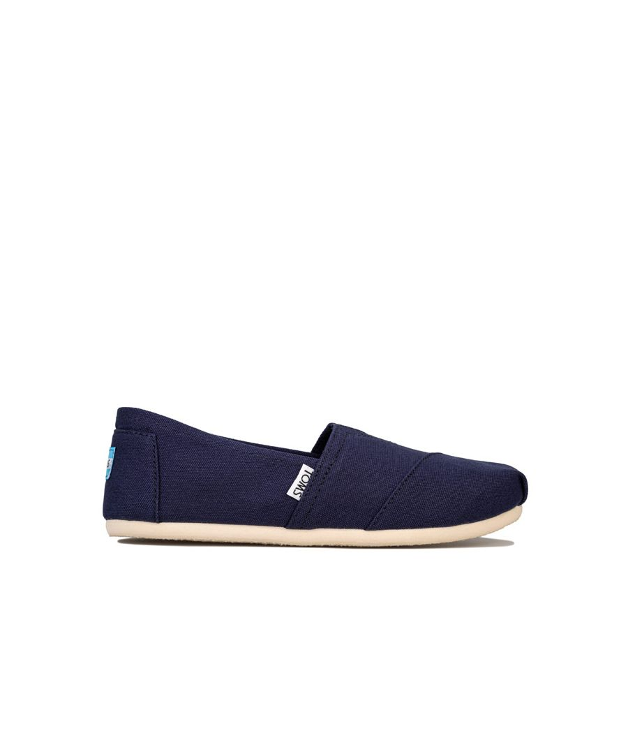 Image for Women's Toms Classics Canvas Pumps in Navy