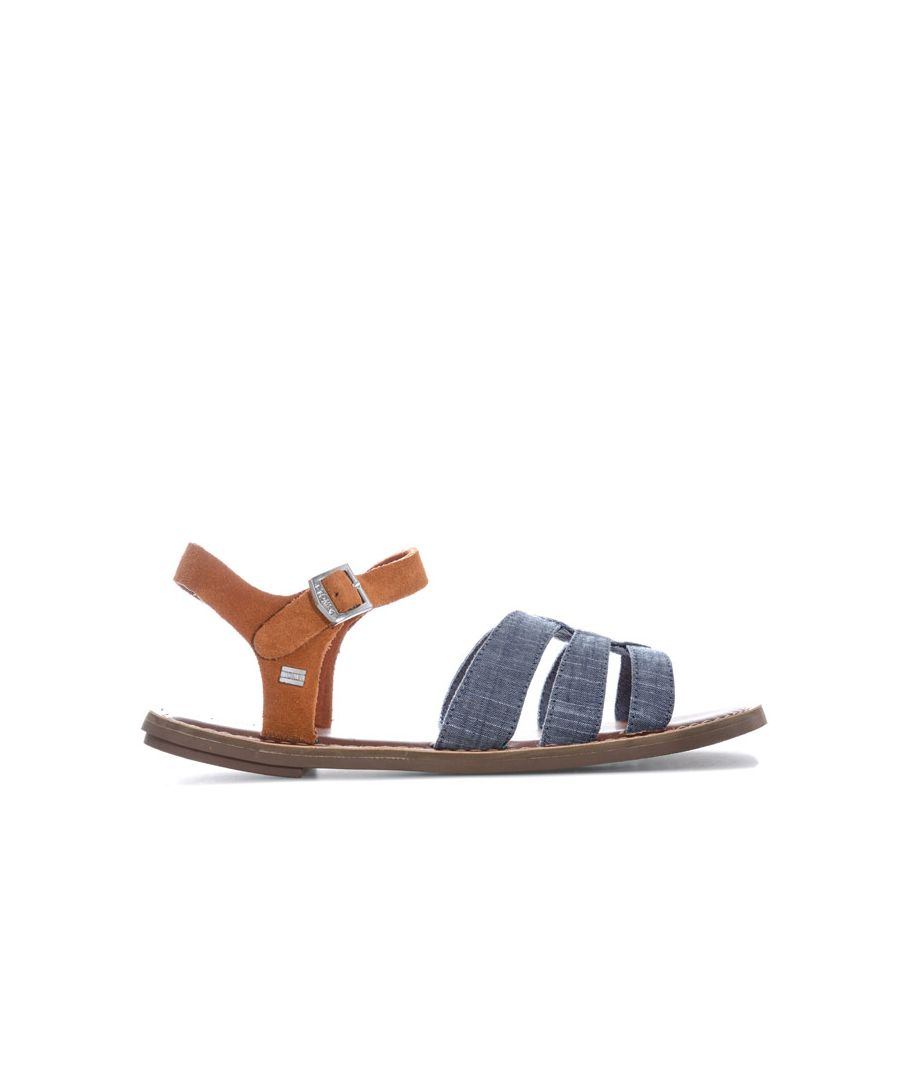 Image for Women's Toms Zoe Chambray Sandals in Blue